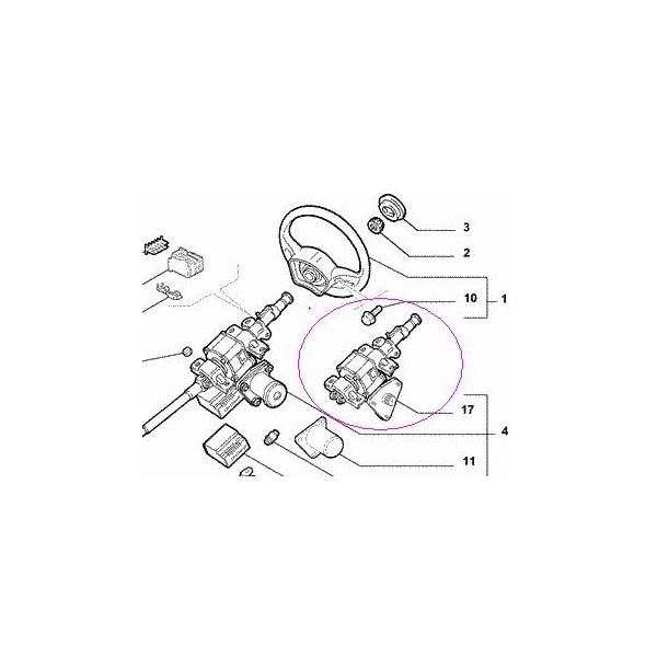 REPARATION COMPLETE DIRECTION ELECTRIQUE FIAT PUNTO AVANT
