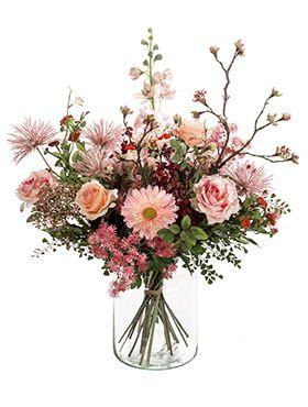 Bouquet mistic summer kunstplant van 65 cm kopen