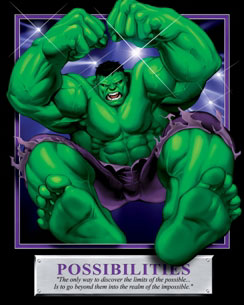 123Posters.com:  Hulk Possibilities Poster