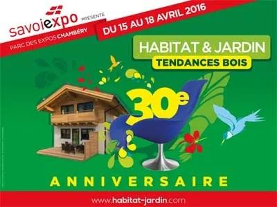 Habitat  Jardin 2016 un salon tendance bois  123 Savoie