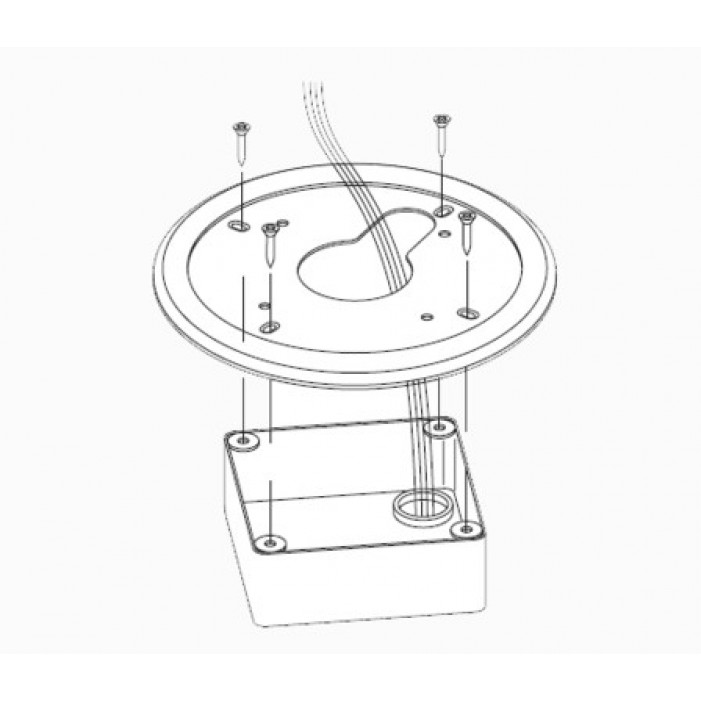 American Dynamics ADCPWMELEC 4S Electrical Mount Adapter
