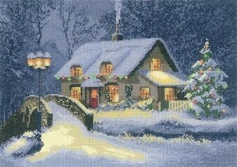Heritage Crafts Christmas Cottage John Clayton Cross