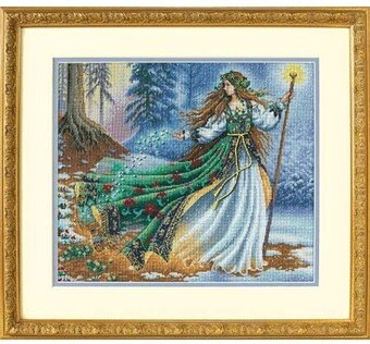 Woodland Enchantress - Cross Stitch Kit