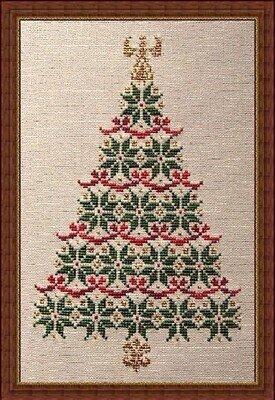 simply christmas cross stitch