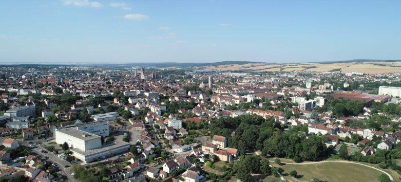 Auxerre drone Yonne