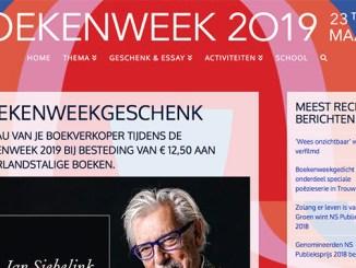 Boekenweekgeschenk 2019 gratis reizen met de trein