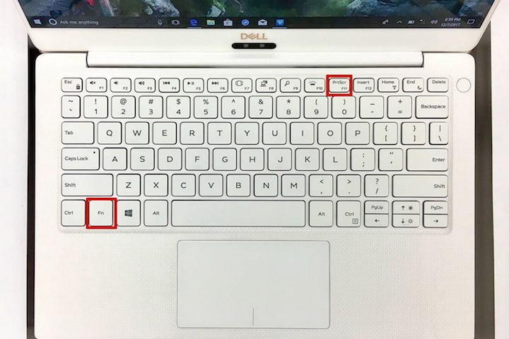 How to take a screenshot on a Windows PC