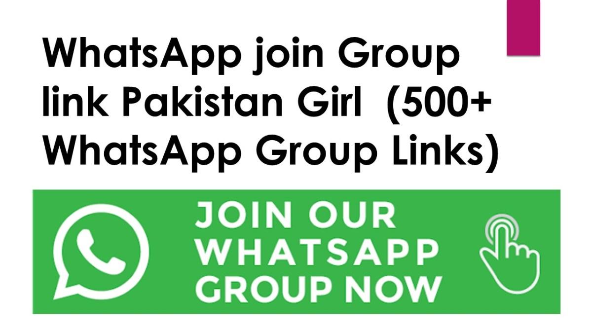 WhatsApp join Group link Pakistan Girl