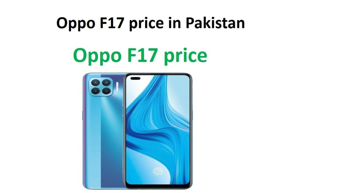 Oppo F17 price in Pakistan