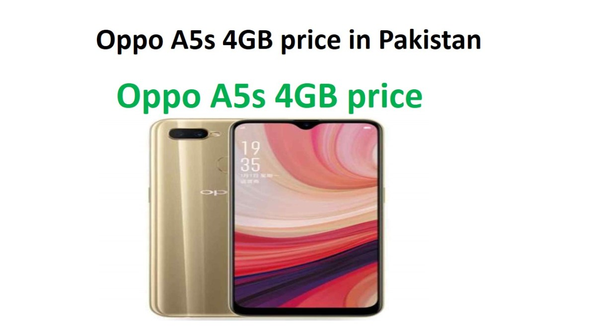Oppo A5s 4GB price in Pakistan