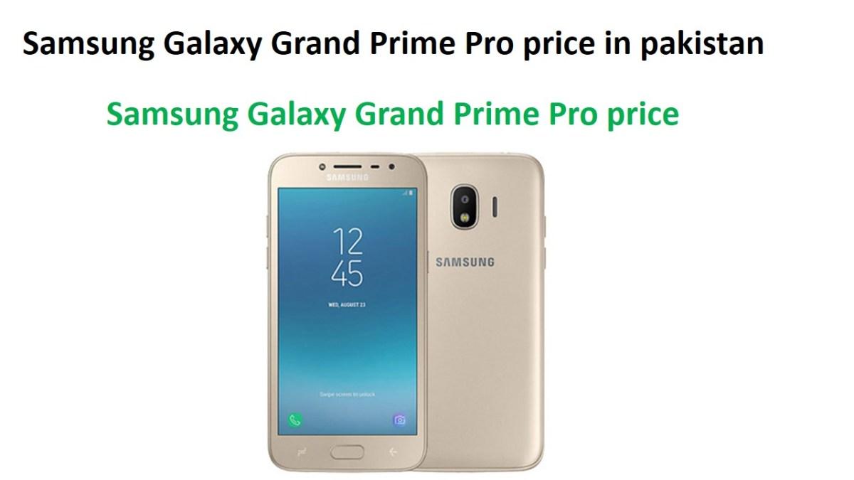 Samsung Galaxy Grand Prime Pro price in pakistan