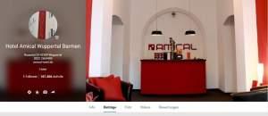 ANSICHT: google+ Firmenseite Hotel Amical