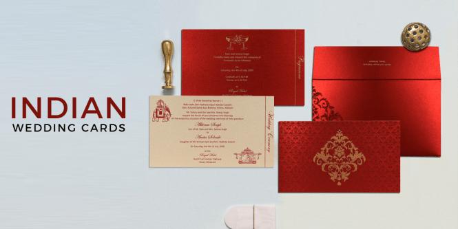 Modern Indian Wedding Invitations Unique Invites
