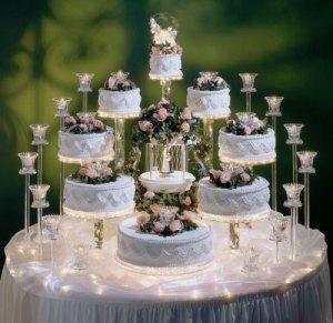 123wedding cake