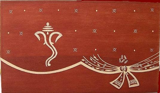 Unique Hindu Wedding Cards With Beautiful Designs