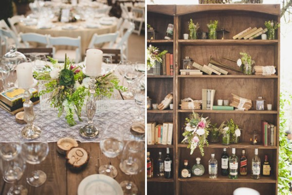 Librabry Wedding Bookshelf
