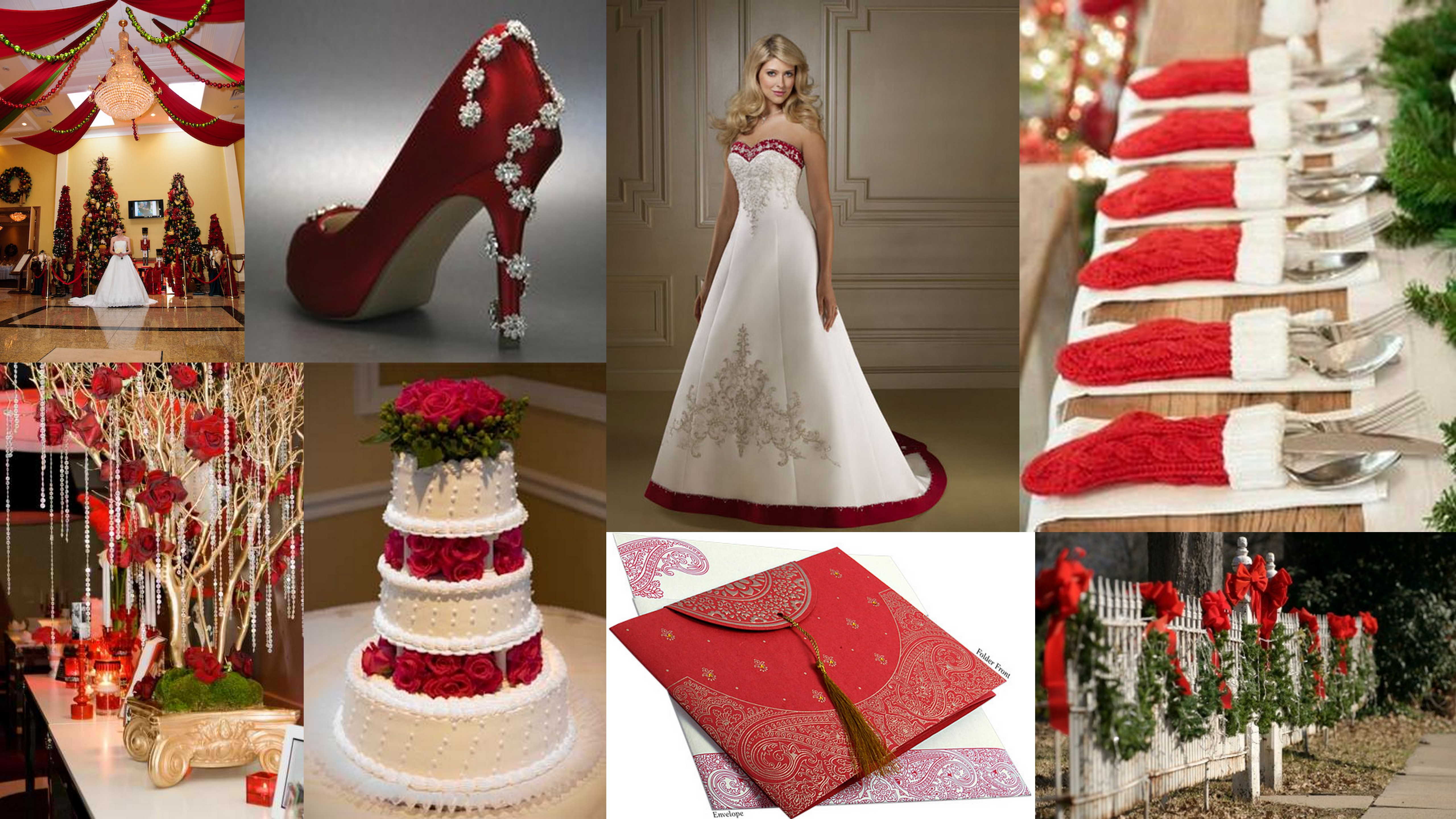 ChristmasThemed Wedding  Christian Wedding 123weddingcards