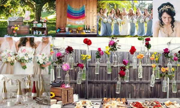 Spring wedding theme