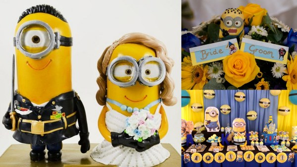 Minion Themed Wedding: 123WeddingCards