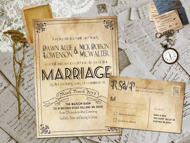Diy Wedding Invitations Ideas With Delightful Appearance For A Invitation Design Layout 2