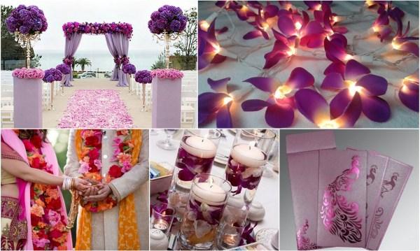 Orchid wedding theme: 123WeddingCards