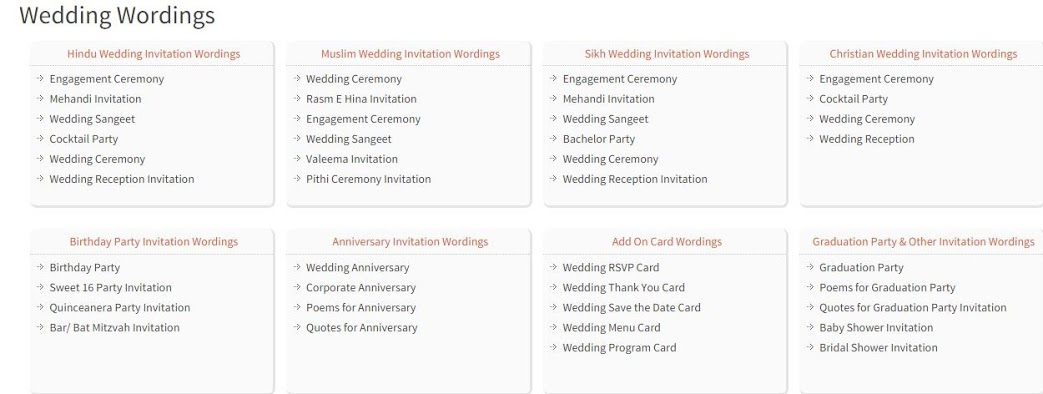 Indian Wedding Invitation Message: Wedding Wording Samples And Ideas For Indian Wedding