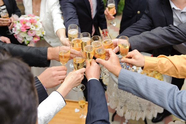 Prepare a toast for the big day-123WeddingCards