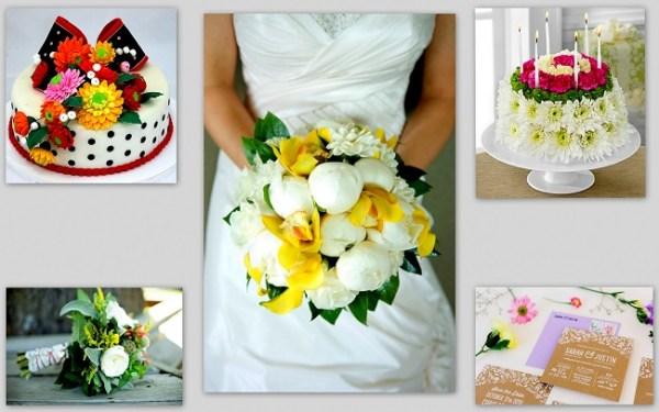 Wedding Floral Accents - 123WeddingCards
