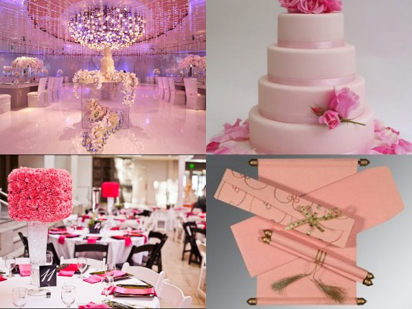 Pink Color Wedding Theme