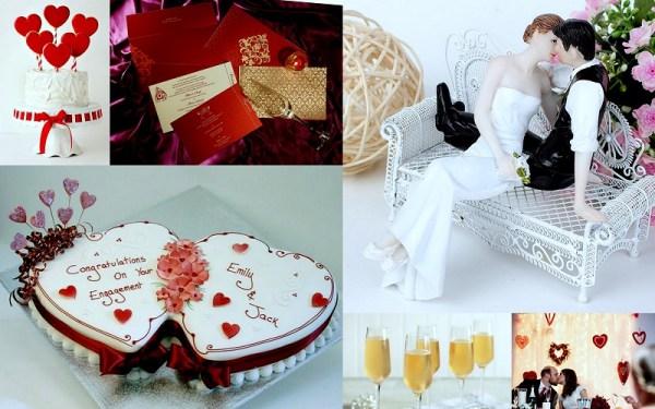 Valentine wedding ideas - 123WeddingCards