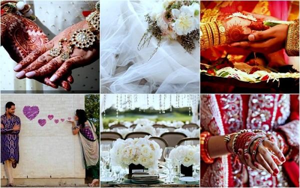 Romantic Indian Wedding - 123WeddingCards