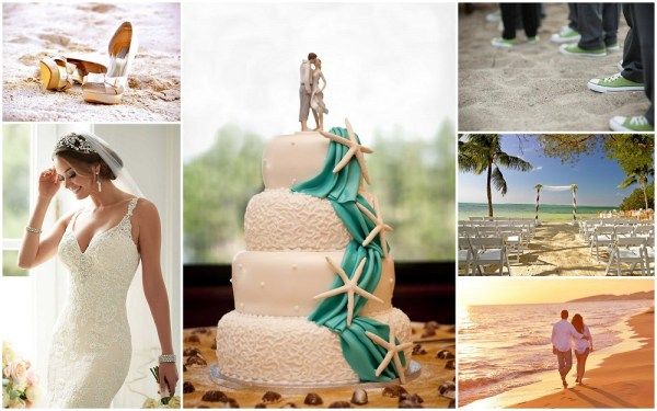 Beach wedding ideas & inspiration - 123WeddingCards
