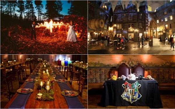 Harry potter wedding venues - 123WeddingCards