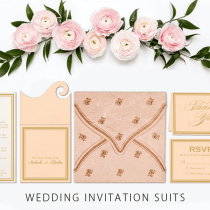 Wedding Invitation stationery Suite - 123WeddingCards