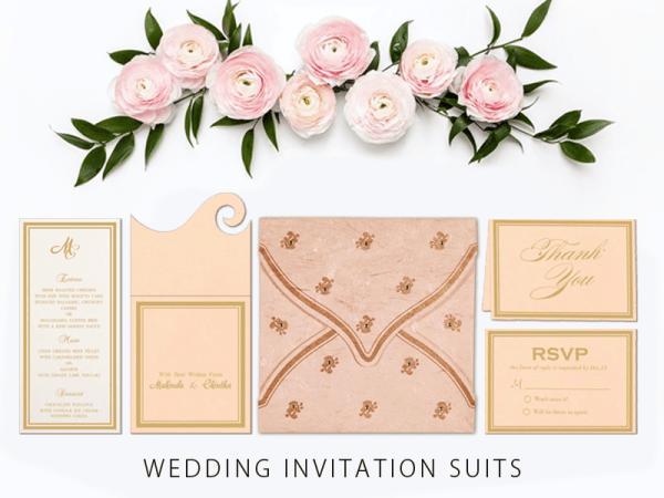 Wedding Invitation stationery Suite - 123WeddingCards