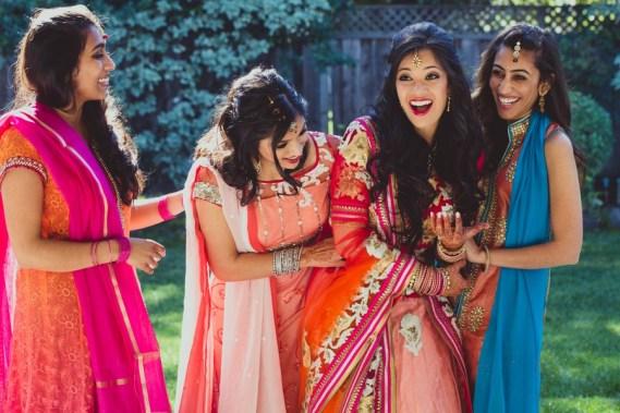 Muslim Brides Maid | 123WeddingCards