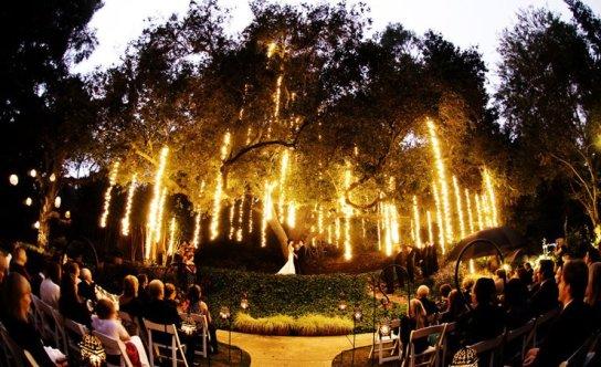 Evening Wedding Ceremony |123WeddingCards
