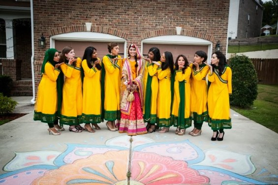 Muslim Bridal Photo Shoot | 123WeddingCards