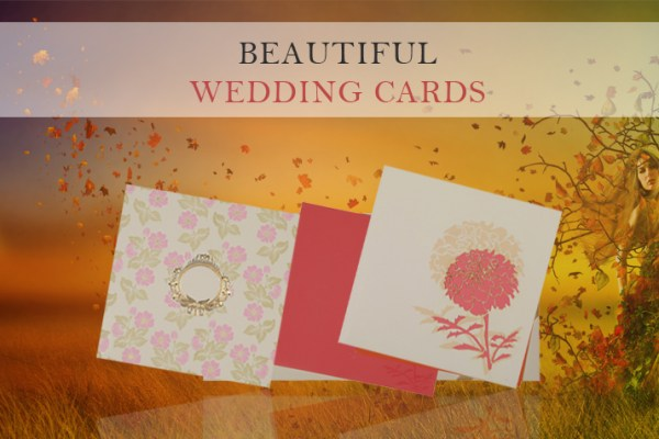 Gorgeous Wedding Cards | 123WeddingCards