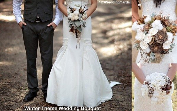 winter-theme-wedding-bouquet-123weddingcards