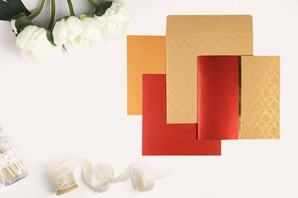 Red Wedding Card | 123WeddingCards