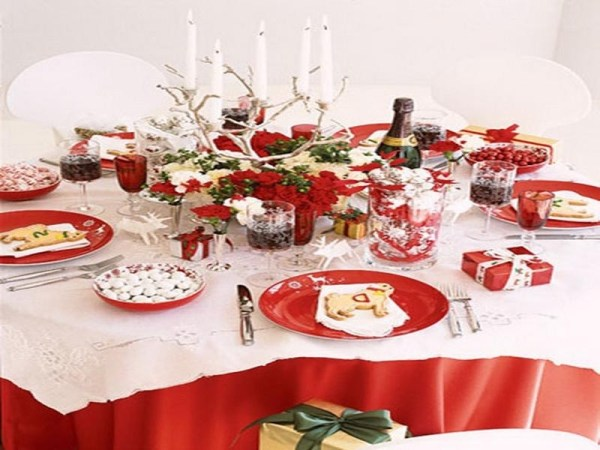 Christmas Decoration Ideas Table Settings Home Design