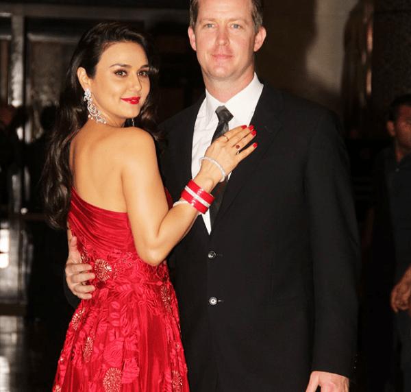 Preity Zinta and Gene Goodenough wedding