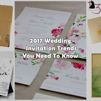 2017 Wedding Invitation Trends You Need To Know