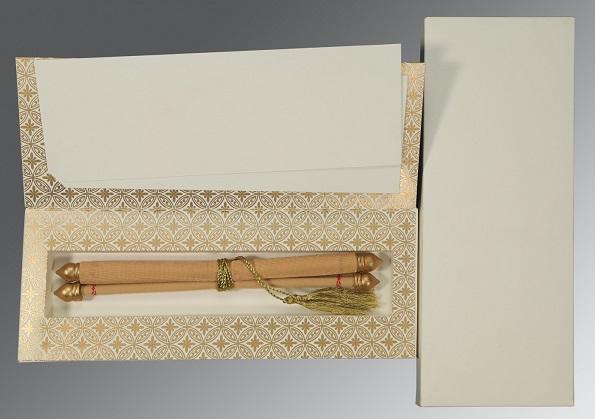 Scroll wedding invitation- SC-5008C - 123WeddingCards