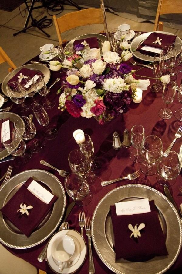 Fall Burgundy and gold wedding ideas