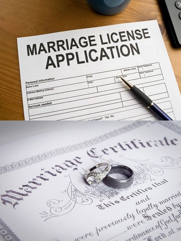 Difference between Marriage License and Marriage Certificate - 123WeddingCards
