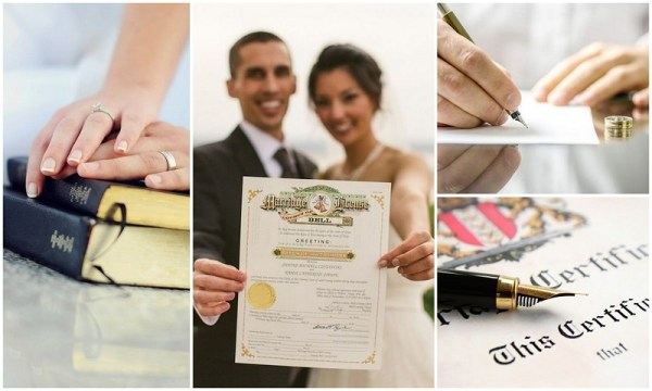Marriage License essentials - 123WeddingCards