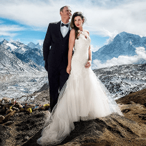 7 Extreme Wedding Destinations to Give You Goosebumps from 123WeddingCards