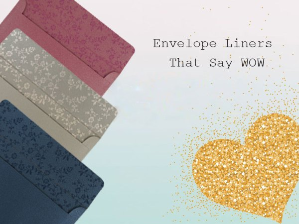 Envelope liners - 123WeddingCards
